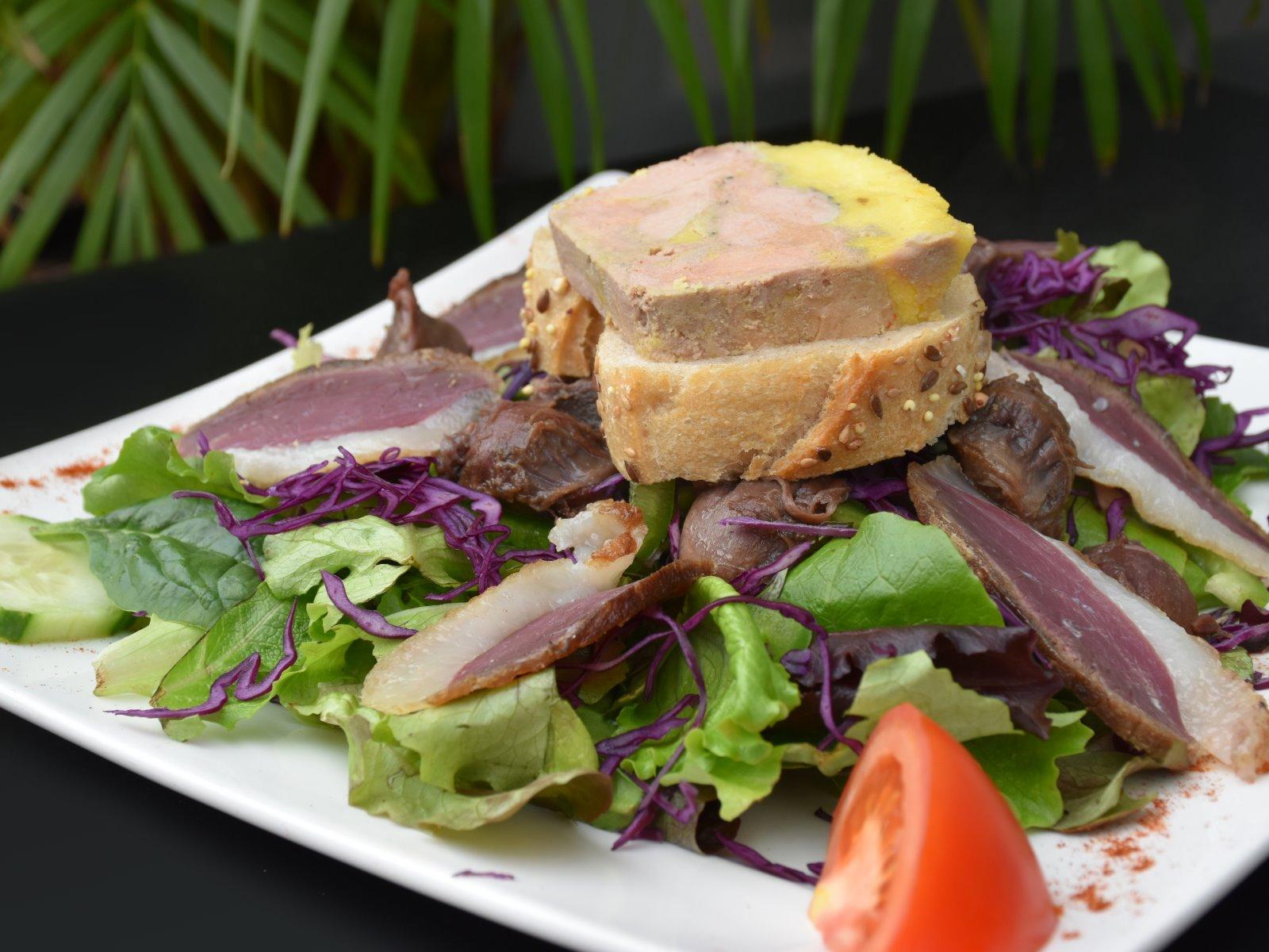 Restaurant de gastronomie fran aise toulouse les photos du comptoir gourmand - Accompagnement gambas grillees ...